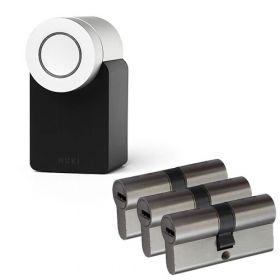 Nuki 2.0 Smart Lock + 3x Nemef NF4 cilinder SKG3