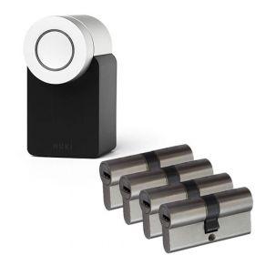 Nuki 2.0 Smart Lock + 4x Nemef NF4 cilinder SKG3