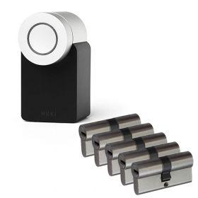Nuki 2.0 Smart Lock + 5x Nemef NF4 cilinder SKG3
