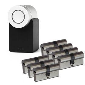 Nuki 2.0 Smart Lock + 7x Nemef NF4 cilinder SKG3