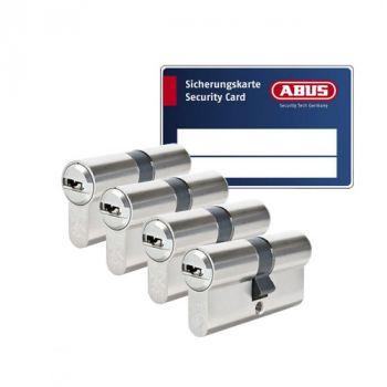 Abus Vela 1000 SKG3 - 4 cilinders met 12 sleutels