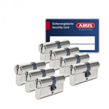 Abus Zolit 1000 SKG3 - 7 cilinders met 21 sleutels