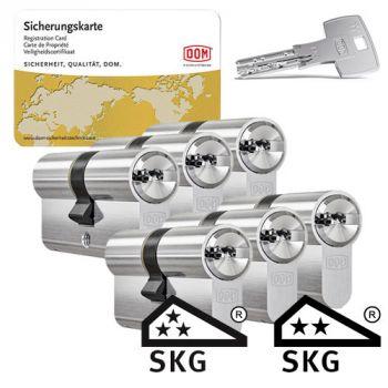Dom IX Teco SKG3 - 6 cilinders met 18 sleutels