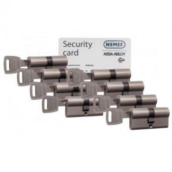 Nemef NF3 SKG3 - 8 cilinders met 24 sleutels