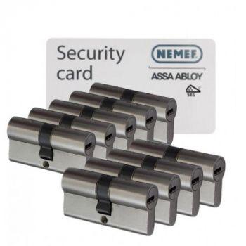 Nemef NF4 SKG3 - 9 cilinders met 27 sleutels